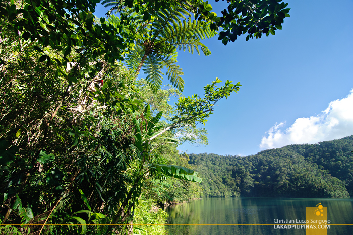 Lake Danao at the Twin Lakes of Balinsasayao