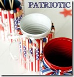 Patriotic -pencil holders