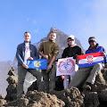 podnožje Mawenzija (oko 4500 m)