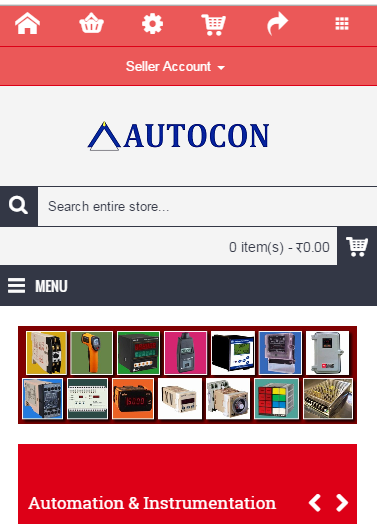 AUTOCON.BIZ -E-commerce portal- screenshot