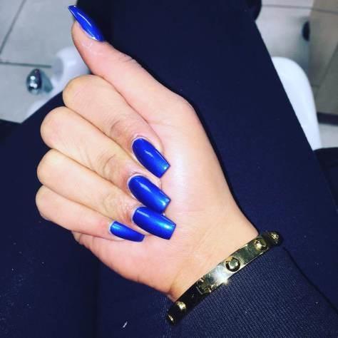 royal blue nail art designs ideas 2017  styles art