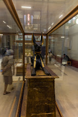 Part of the Tutankhamun exhibition.