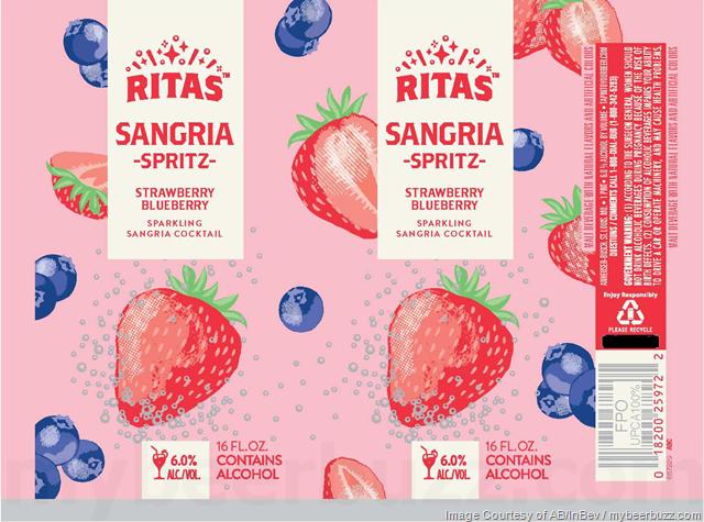 Anheuser-Busch Adding Ritas Sangria Spritz Cans