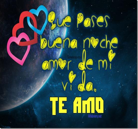 buenas noches amor mio