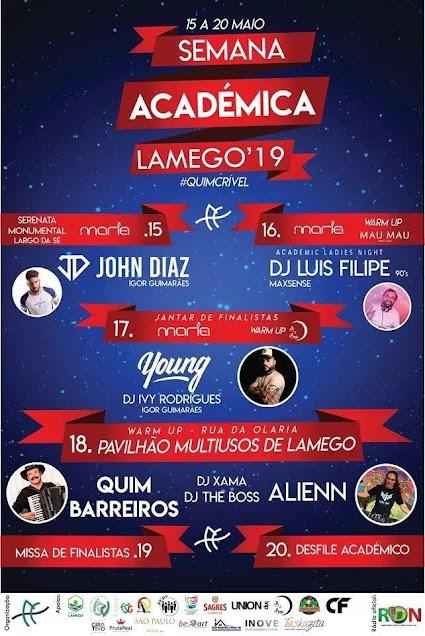 Semana Académica de Lamego - 15 a 20 de maio de 2019