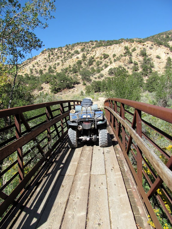 Bridge over Ferron Creek