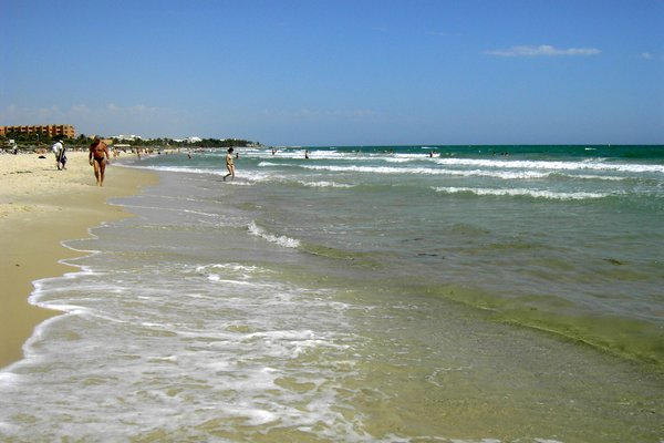 Пляж отеля Мархаба
