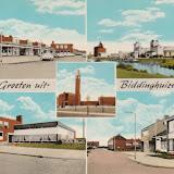Ansichtkaarten ( meerluik kaarten ) Groeten uit ..... Flevoland.