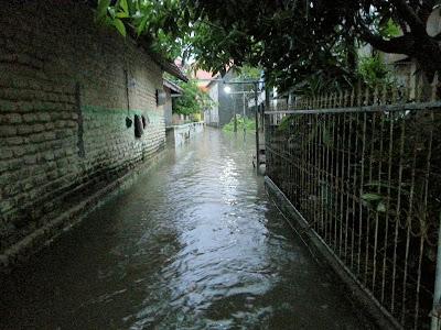 Luapan Air Hujan (Sampang Hujan selama 2 jam)