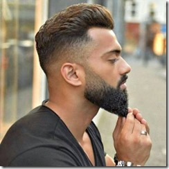 Fade into beard mens fades haircuts