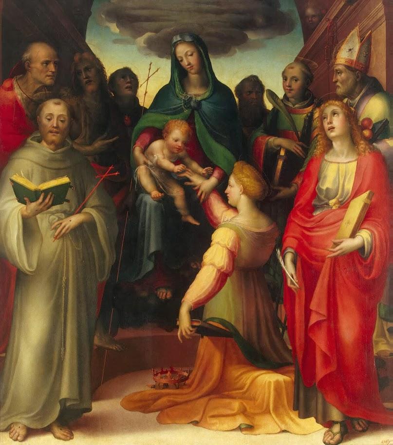 Domenico Beccafumi - Mystical Marriage of St Catherine