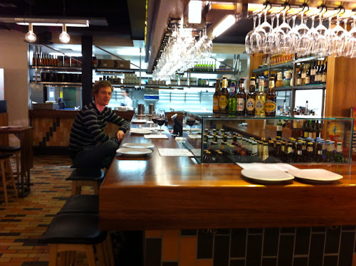 Getting in the theme, Movida bar at the Melbourne airport