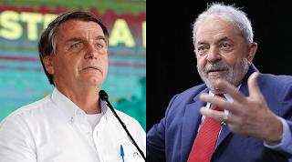 Lula supera Bolsonaro em potencial de voto para 2022, diz pesquisa