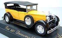4157 FIAT 521 Découvrable 1929