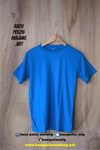kaos polos cowok biru turkish malang