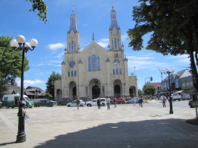 Iglesia de Castro, construída totalmente en madera