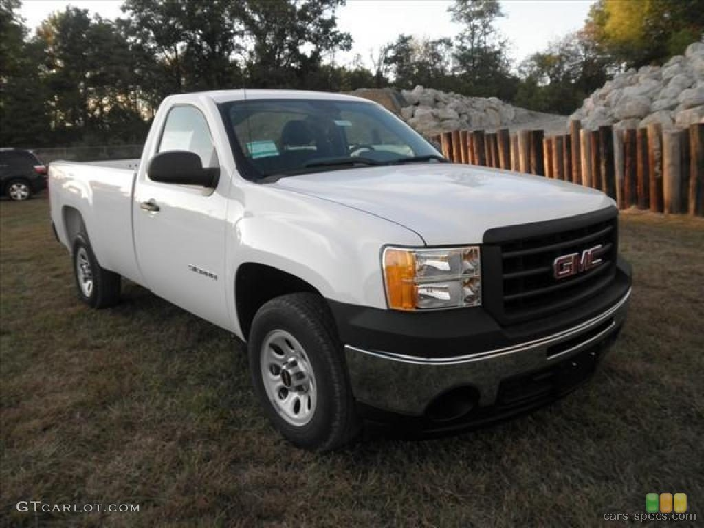 2012 gmc sierra 1500 regular cab specifications pictures prices. Black Bedroom Furniture Sets. Home Design Ideas