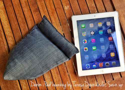 iPad beanbag tutorial