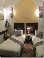 My room at the riad