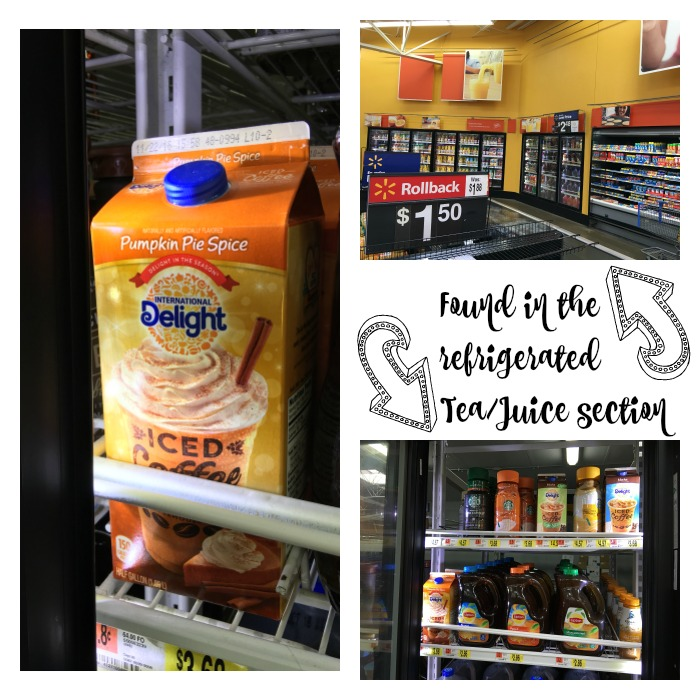 International Delight Iced Coffee at Walmart