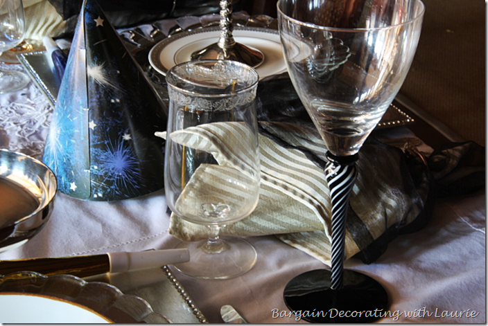 New Year's Table Stemware