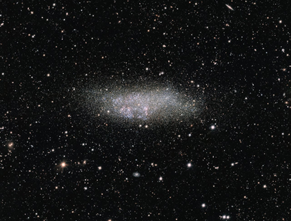 galáxia Wolf-Lundmark-Melotte