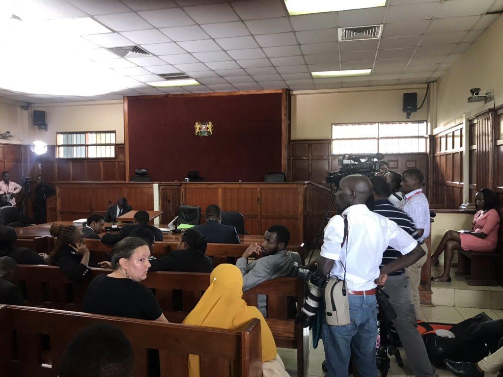 Huduma Namba case at Milimani lawcourts. PHOTO | BMS