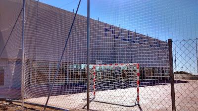 Pista exterior del polideportivo BelloHorizonte (Marbella)