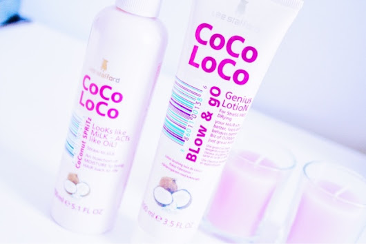 Lee Stafford Coco Loco Review | Coconut Spritz and Blow & Go Genius Lotion