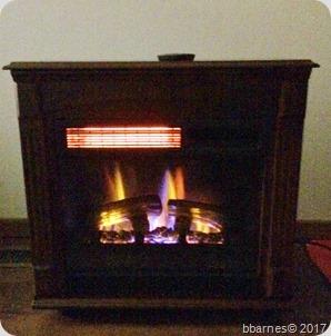 Fireplace dark