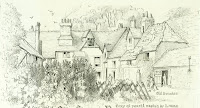"""Old Shelford House in 1850."" From A Record of Shelford Parva by Fanny Wale P59"