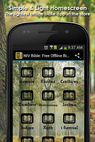 The Holy Bible : Free Offline Bible Screenshot