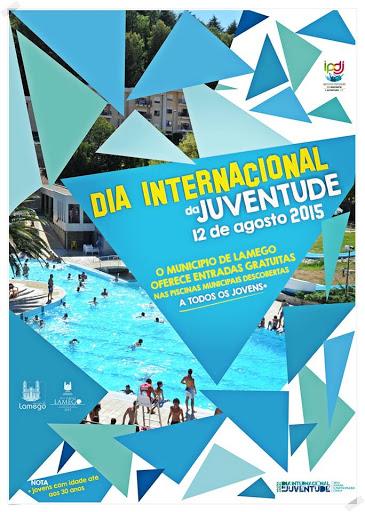 Entrada gratuita nas piscinas assinala Dia Internacional da Juventude