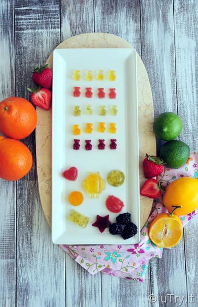 5 Different Flavors Homemade Gummy Bears 自家製小熊軟糖 (五種口味)  http://uTry.it