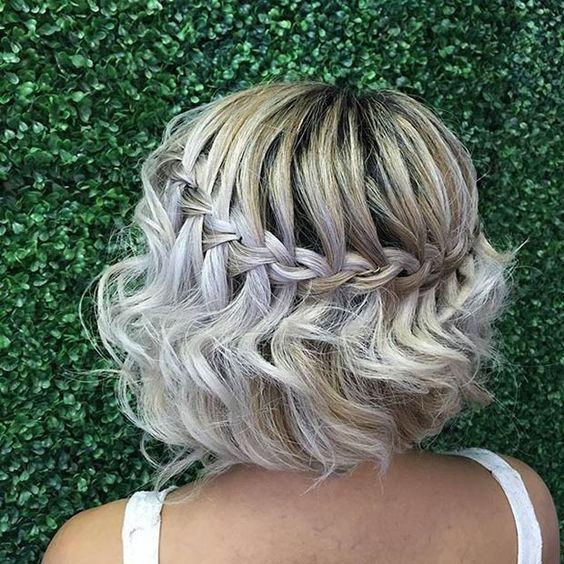 Braid for Short Hair :Style French Style Newest Ideas 2017 1