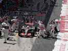 Lewis Hamilton pitstop McLaren MP4-22