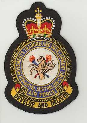 RAAF Air Movements Training  and Development Unit crown.JPG