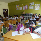 Grade-I Explorers Class activity on 20/02/2015 on speaking and writing skills.