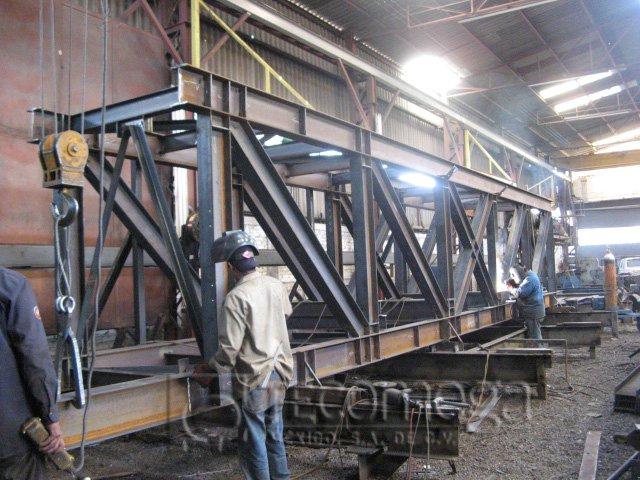 Estructuras metalicas tecomega marzo 2011 - Fotos de estructuras metalicas ...