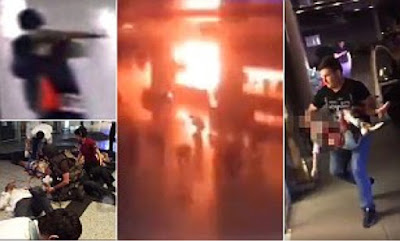 Terrorist attack at Istanbul airport left up to 50 dead and 147 injured