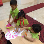 Celebration of International Ice-cream Day by Playgroup ( 2016-17 ) at Witty World, Bangur Nagar