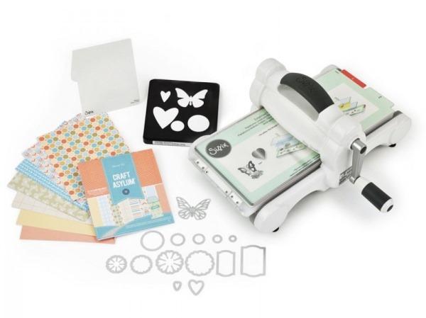 Sizzix Big Shot Starter Kit macchina da taglio con fustelle incluse