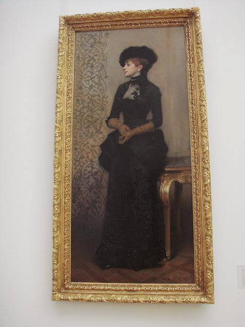 La femme aux gants, Petit Palais, París, Elisa N, blog de viajes