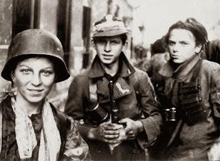 Scouts polacos, miembros de batallones de resistencia scouts contra los nazis