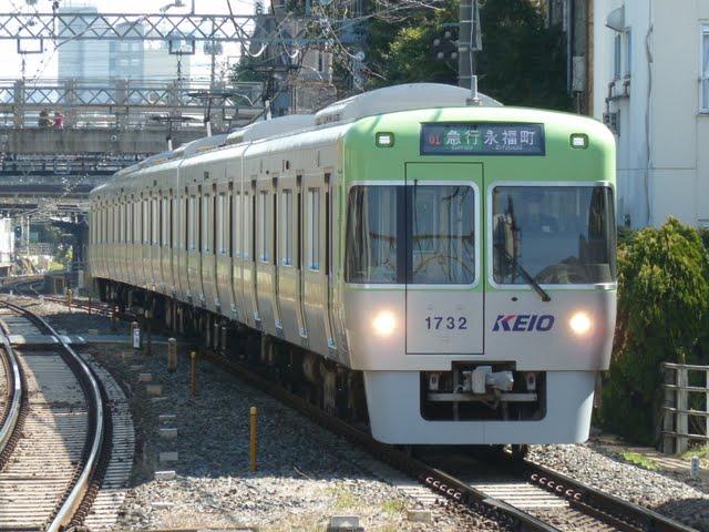 京王電鉄 急行 永福町行き2 1000系5・6次車ライトグリーン