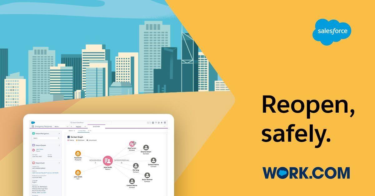 Salesforce เตรียมเปิดบริการ Work.com เพื่อเป็นตัวช่วยสำหรับธุรกิจกลับเข้าสู่การทำงานหลังวิกฤต