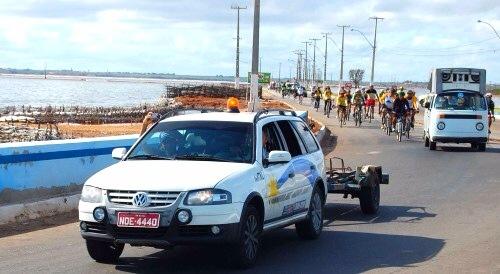 RN: Ong Baobá faz promoção ciclística Natal/Nísia Floresta