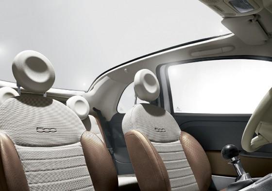 FIAT 500 (interior)