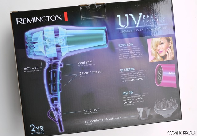 Remington UV Baked Ceramic Hair Dryer Review (5)