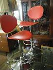 Modern Swivel Bar chairs $300 Pair